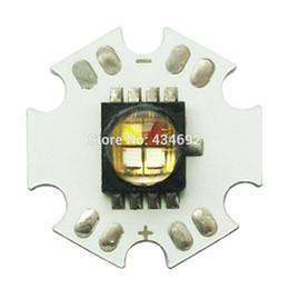 Wholesale Cree Mce - Wholesale- 10W High Power Cree XLamp MC-E MCE RGBW RGB + White LED Emitter Lamp Light 4Led Star PCB Board Free Shipping