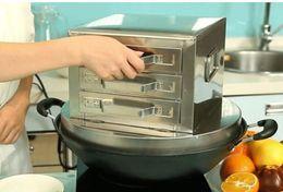 Wholesale Furnace Casting - Steamed vermicelli roll machine plate vermicelli roll drawer 3 steamed furnace La bowel household steamed vege