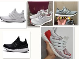 Wholesale Shoes Casual Woman High - High Quality White and Black Ultra Boost 2.0 II Running Shoes Men & Women Ultraboost 2.0 Casual Shoes
