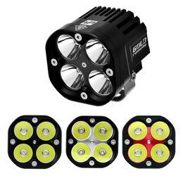 Wholesale 12 Volt Flood Lights - 12 Volt Led Work Light 40w Spot Flood Beam Headlight 40w piece Tractor Driving Light 4x4 Led At Motor