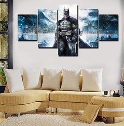 Wholesale Batman Sheets - Hot New Unframed Printed Movie Batman Poster Group Painting Children'S Room Decor Print Poster Picture Canvas