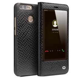 Wholesale Case V9 - 6234-69 Case for Huawei honor v9 Luxury Leather Ultrathin Flip Cover for Huawei Honor V9 Sleep Wake Function black