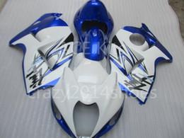 Wholesale Abs Hayabusa Fairings Kit Blue - 5 free gifts New ABS motorcycle Fairing Kits 100% Fit For SUZUKI GSXR1300 Hayabusa 1997-2007 good nice Blue White no.a22