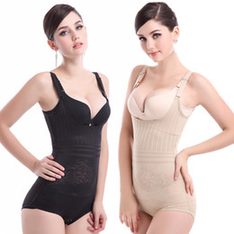Wholesale Sexy Intimate Clothes - 2017 Fashion Sexy Female shapers Bodysuits Slimming underwear Women Intimates Teddies Seamless Siamese Body sculpting Clothing