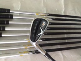 Wholesale Left Handed Golf Clubs - Left Hand X2 HOT Iron Set X2 HOT Golf Irons High Quality New Golf Clubs 4-9PASw Graphite Shaft With Head Cover