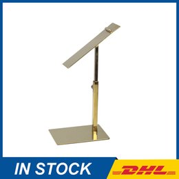 Wholesale Wholesale Shoe Display Stand - Polished Gold Metal shoe display stands, retail shoe store display racks, shoe stands display