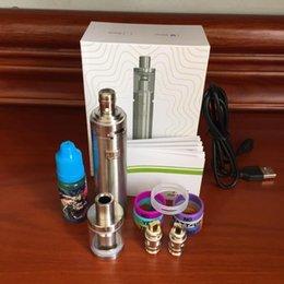 Wholesale Evod Boxed Kits Free Shipping - Eleaf iJust 2 kit 2600mAh vape pens cartridges enail Kanthal wire atmos vaporizer EVOD battery cigarette box mod e cig kit free shipping
