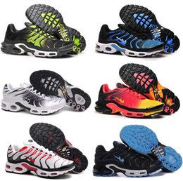 Wholesale High Quality Best Sneakers - 2017 Free Shipping Cheap Mens TN Air Breathable Running Shoes, Best Sale 2017 Brand TN Sports Shoes High Quality Blue Red Outdoor Sneakers