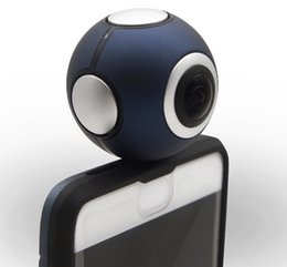 Wholesale Camera Usb Oem - WE360 OEM VR Panoramic Camera Digital HD Full Camera Androids Mobile Phone Lens -Usb Interface Micro USB port