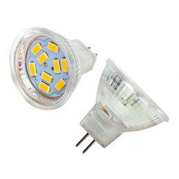 Wholesale Led Mr11 5w - Wholesale- ITimo White Warm White Energy Saving Spot Lamp DC12V 3W 5W Home Light LED Lamp Bulb 5730 SMD MR11 LED Spotlight