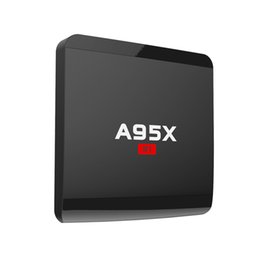 Wholesale Android Streaming Media - A95X R1 Amlogic S905W Quad-core Android 7.1 1GB 8GB Smart TV Box HDMI2.0 4Kx2K HD 2.4G Wifi Streaming Media Players
