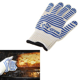 Wholesale Oven Cooking - The Ove Glove Microwave oven Glove Heat Resistant Cooking Heat Proof Oven Mitt Glove Hot Surface Handler