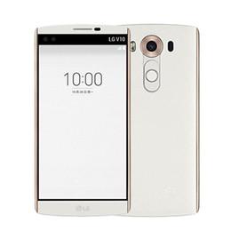 Wholesale Unlock Lg - Original LG V10 Reburbished Smart Mobile Phone 64GB 4GB 5.7 inch H900 H901 4G LTE Unlocked Android Fingerprint Cellphone Smartphone