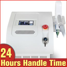 Wholesale Laser Tattoo Cleaner - Brand New 1064nm 532nm Q Switch Yag Laser Birthmark Cleaning Tattoo Removal Beauty Machine RED Target Light+black doll