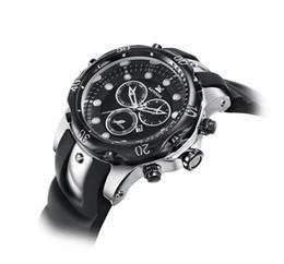 Wholesale Hour Glasses - 2017 New Business Quartz INVICTA watch Men sport Military DZ Watches Men Silicone Strap army wristwatch clock hours Complete Calendar
