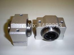Wholesale Linear Blocks - Wholesale- NEW 8mm bearing bushing SC8V SC8VUU SCV8UU linear bearing block for 8mm linear shaft