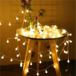 Wholesale Halloween Decorations Sales - Hot sale LED string lights 10M 100leds colorful outdoor led Christmas lights AC110V 220V for yard Christmas tree decoration