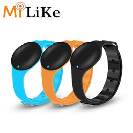 Wholesale Silicon Kids Watch - Hot Sale Promotion Smart bracelet smart watch silicon MLW03 smartband smart sport bracelet wristband cheap Christmas gift