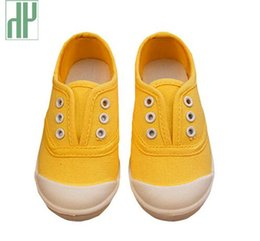 Wholesale Cheap Toddler Canvas Shoes - Children Shoes canvas sneakers 2017 spring kids fashion girls shoes toddler boy canvas shoes Size 21-36 cheap kids trainers
