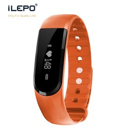 Wholesale Remote Tested - ID101 smart wrist band with OLED fitness tracker sport daily use health real time heart rate test
