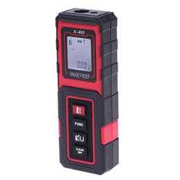 Wholesale Telemetro Laser - Freeshipping Handheld 40m 131ft Digital Laser Distance Meter Range Finder Diastimeter metro laser medidor distancia digital telemetro laser