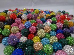 Al por mayor - Nueva moda de arcilla polimérica Bola de cristal Shamballa Bead Pulsera Collar de perlas Pulsera DIY accesorios 2501 desde fabricantes