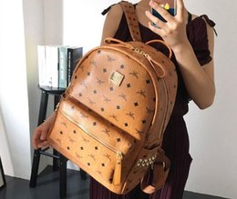 flap style backpack Promo Codes - High Quality 2018 men Backpack women's Backpack lady backpacks Bags Fashion Women Men School Bags