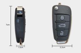 Wholesale Audi Key Remote Button - Original KEYDIY B Series For Audi Style Universal Remote Control 3 Button Key Black B02 for KD900 URG200 Key Programmer free shipping