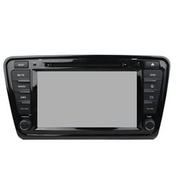 Wholesale Low Price Phone Gps - Low price high quality 8inch Andriod 5.1 Car DVD player for SKODA OCTAVIA 2014 with GPS,Steering Wheel Control,Bluetooth, Radio