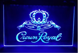 Wholesale Whiskey Signs - Crown Royal Derby Whiskey NR beer bar pub club 3d signs led neon light sign