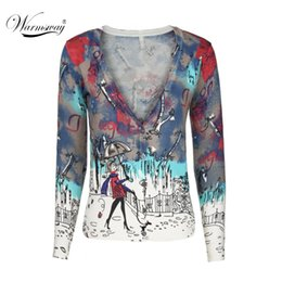 Wholesale Vintage Comfort - Wholesale- 2017 Fall Comfort Casual fitted slim Cardigans vintage Outwear Tops Knitted Cardigans crochet women sweater coat ws-015