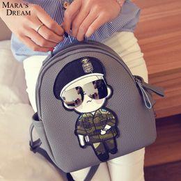 Wholesale Dream School - Wholesale- Mara's Dream Backpacks Fashion Teenaget School Bags Preppy Style Character Pattern Backpacks 2017 New Arrival Girl Backpacks
