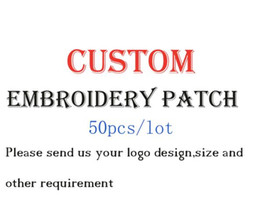 Wholesale Epaulets Accessories - Arts and crafts Custom Embroidery Patch DIY fashionable mixed assorted clothing Epaulet badge Applique garment accessories.