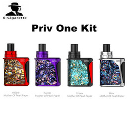 Wholesale Green Aliens - 100% Authentic SMOK Priv One Pocket Kit with 920mAh Built-in Battery Stick Aio Coil Vs Smok Gpriv 2 Alien Qbox