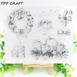 Wholesale Crafts Presents - Wholesale- YPP CRAFT Presents Transparent Clear Silicone Stamp Seal for DIY scrapbooking photo album Decorative clear stamp sheets