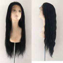 Wholesale Indian Human Hair China - china hair factory imports full lace wig peruvian hair 8-26 inch human hair lace front wigs