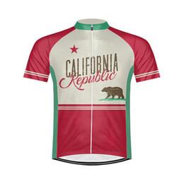 Wholesale California Clothing - Customized NEW Hot 2017 JIASHUO CALIFORNIA mtb road RACING Team Bike Pro Cycling Jersey   Shirts & Tops Clothing Breathing Air