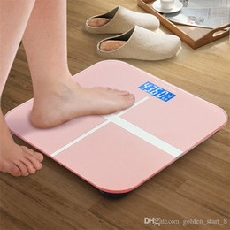 Wholesale Muscle Glass - Personal Body Fat Electronic Scales Hydration Muscle Weight Scales Digital Bathroom Scales for Home-use 300lb with LCD Display