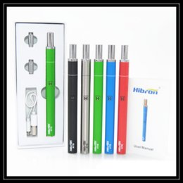 Wholesale integrated board - Newest Hibron ATB Starter Kit 400mAH Preheat VV Battery 100% Original Hibron Integrated Thick Oil Ecig Vaporizer Pen Across The Board Vape