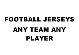 Wholesale Cheap Red Football Jerseys - Custom Any Team Any Player name and number all Stitched Football Jerseys Cheap Wholesale price free shipping Mens size S-XXXXL