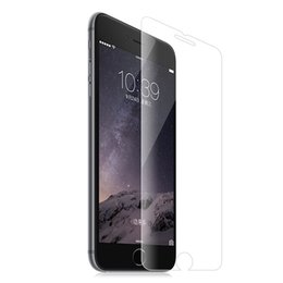 Wholesale Touch Screen Protection Film - Tempered Protective Glass Film 9H for Apple iPhone 6 6S 2.5D Touch Screen Protector Full Cover Protection for Screen