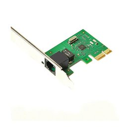 Wholesale Wireless Nic - Wholesale- New 10 100 Mbps NIC RJ45 LAN Network PCI-E Ethernet Card Adapter for Computer PC RJ45 External Network Card LAN Adapter