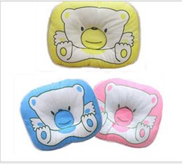 Wholesale Wholesale Bearing House - Newborn Pillow Baby Finalize the design pillow bear cartoon kids headrest House Bedding Soft Sleeping Positioner