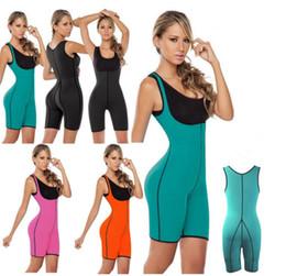 Wholesale Waist Compression Cincher - Compression Shapewear Weight Loss Control Postpartum Pants Women Neoprene Waist Trainer Body Shaper Cincher Sliming Bodysuit