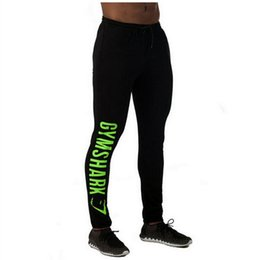 Wholesale Mens Tight Track Pants - Wholesale-2016 Mens Compression Track Pants High Stretch Mens Joggers Polyester Tights Men Pencil Pants Tracksuit Bottoms M-XXL