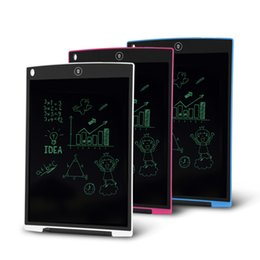Wholesale New Pad For Kids - New 12 inch Graffiti LCD Writing Tablet for Student Drawing Tablet for Kids Digital Handwritting Pads draft with Retail Box