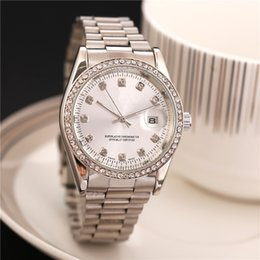 Wholesale High Quality Stainless Steel - New model Luxury Fashion lady dress watch Famous Brand full diamond Jewelry Women watch High Quality free shipping wholesale