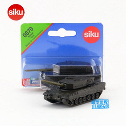 Wholesale Diecast Tanks - Free Shipping Siku Small Size Diecast Toy Car Model Armored Battle tank Educational Collection Toy for children Gift