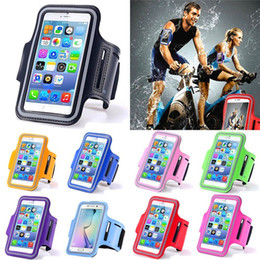 Wholesale Waterproof Sport Armband Case for iphone s Plus SE Gymnasium Activities Accessories Running Phone Pouch Cover ArmBand for Samung LG