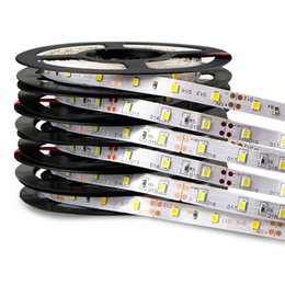 Wholesale Red Led Strip Pc - High brightness led strip SMD 5050 2835 5630 DC12v flexible led strips lights waterproof 60LED meter 300LED 5meter roll IP65 strips lights
